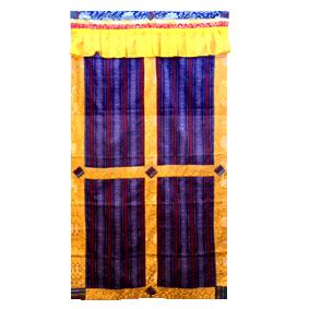 Bhutanese Door Curtain  sc 1 st  Kopan Monastery Shop & Bhutanese Door Curtain - Door Curtains