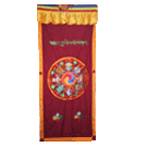 Auspicious Symbols Door Curtains