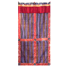 Bhutanese Door Curtain