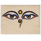 Buddha Eyes Card