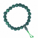 Green Wrist Mala