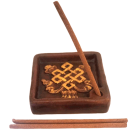 Eternal Knot Incense Holder