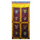 Lama Door Curtain