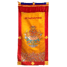 Lama Door Curtain with Tashi Dargye Symbol