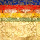 Lotus Pattern Book Bag