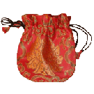 Triditional Mala Bag With String