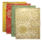 Lotus Brocade Book Cover