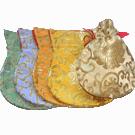 Mala Bag Lotus Pattern Pastel Colors
