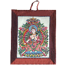 Silk Thangka Maitreya Buddha