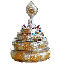 "Mandala Offering Set - Standard 5.5"""