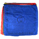 Medicine Buddha Prayerflags (25 flags per string)