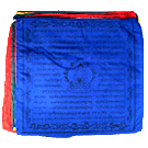 Medicine Buddha Prayerflag (10 flags per string)