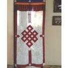 Light Open Weave Door Curtain