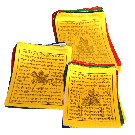 Mini Polyester Silk Prayer Flags