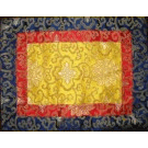 Lotus Pattern Table Cloth In Pure Silk