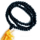 Plain Rosewood Mala With Tassel