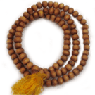 Large Bead Sandalwood Mala