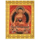 Silk Thangka of  Buddha Shakyamuni