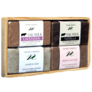 Himalayan Herbal Bath Soap Set - Milk and Flower Line