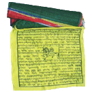 Large Tibetan Prayer Flags (Windhorse)