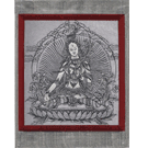 Silk Thangka Of  Tara
