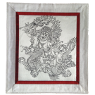 Silk Thangka of White Dzambala